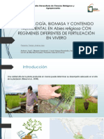 Morfología, Biomasa y Contenido Nutrimental en Abies