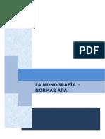 La Monografia y Las Normas Apa