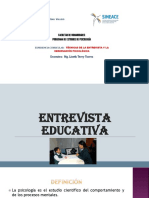Entrevista Educativa