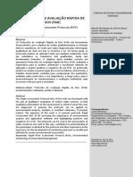 Protocolo Para Avaliação de Ecossistema Aquatico