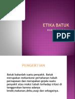 9.Etika Batuk