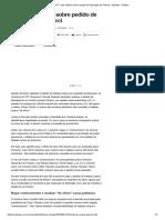 STF Adia Decisão Sobre Pedido de Liberdade de Palocci