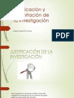 Justificacion y Delimitacion de La Investigacion (Diapostitivas)