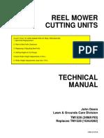Reel Mower Cutting Units Tm1528