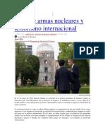De Armas Nucleares y Terrorismo Internacional