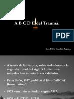 A B C D E Del Trauma