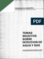 Temas Selectos Sobre Inyeccion de Agua y Gas