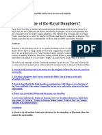Was Scota One of the Royal Daughters of Zedekiah