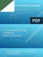 Clasificación de Las Centrales Hidroeléctricas, Energia 8-1