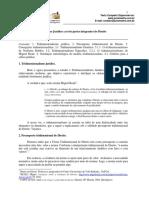 Tridimensionalismo Jurídico - As Três Partes Integrantes Do Direito