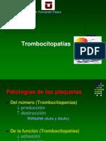 Trombocitopatias