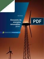 Encuesta de Energías Renovables