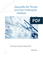Engineering paths for Wayne State University Undergrad Students.docx