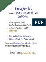 Apresentacao Gravitacao IME 2s2017