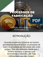 Processos de Fabricação Doc