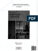 Principles of Geotechnical Engineering Solutions Insaatica