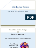 Scientific Poster Design for Website