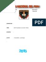 Monografia Los Derechos Humanos y Su Relacion Policial