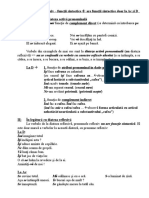 Pronumele reflexiv+diateza reflexiva+diateza activa pronominala