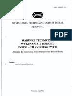 COBRTI INSTAL Zeszyt 6_Inst Ogrzewcze