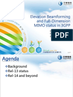 1.Elevation Beamforming and Full Dimension