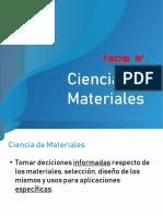 Ciencia de Materiales - Tecnologia 4