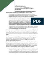 Origen Del Sistema Financiero Peruano