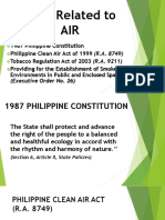 Envi Presentation (Laws Related to Air)