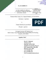 Premium Plastics v Howell - Appellee's Brief