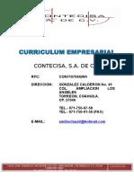 Curriculum Contecisa