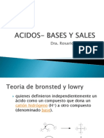Acidos- Bases y Sales