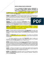 Contrato de Trabajo Facichin
