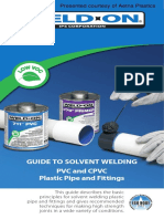Weld-On Solvent Welding Guide