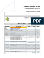 Metrado c.p. Ptar