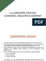 Unit 2 -Fundamental Analysis AKTU