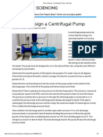 How to Design a Centrifugal Pump _ Sciencing
