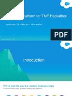 Salesforce Platform for Hackathon 05072017