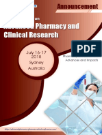 Advanced Pharmacy 2018 Conference Announcement