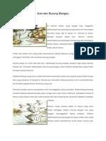 Ikan Dan Burung Bangau