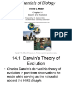 Ch 14 Darwin and Evolution