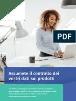 Assumete il controllo dei vostri dati sui prodotti con Perfion PIM