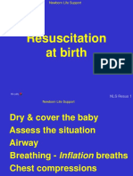 16. Resuscitation at birth