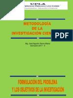 CLASE_Nº05_Formulación y Objetivos de La Investigación