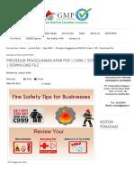 Prosedur Penggunaan APAR PDF _ Cara _ SOP _ Download File