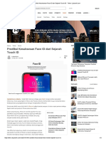 Prediksi Kesuksesan Face ID Dari Sejarah Touch ID - Tekno Liputan6.Com