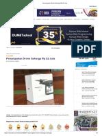 Penampakan Drone Seharga Rp 22 Juta