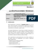 2) Especificaciones Tecnicas - Text