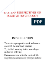 Eastern Perspectives on Positive Psychology