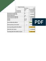 Gear Generating Profile Shift Calculations