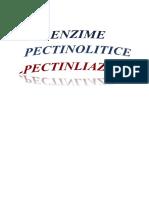 Enzime pectinolitice